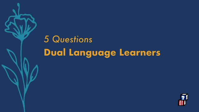 Five Questions with Dr. Lisa Lopez – Dual Language Learners