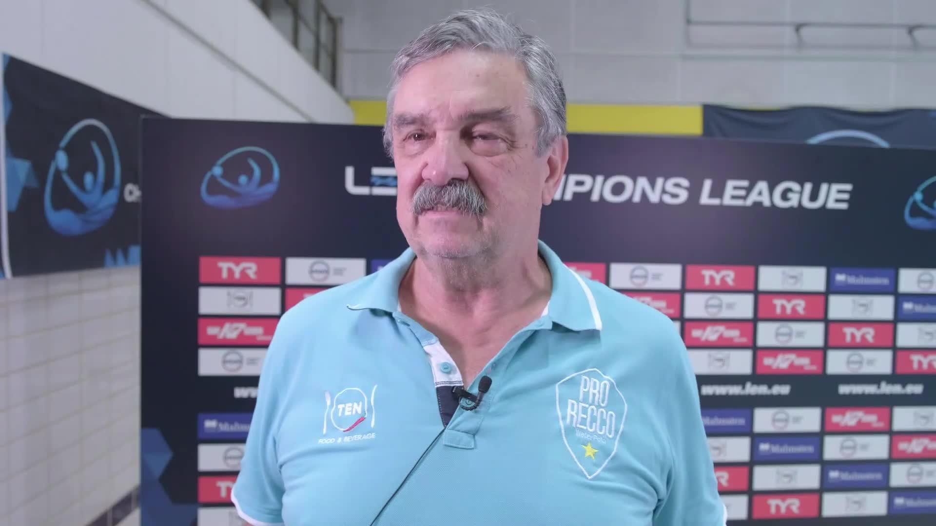 Pro Recco, girone di andata concluso vincendo: parla Ratko Rudic