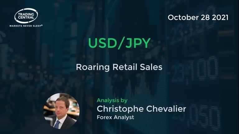 USD/JPY: Roaring Retail Sales