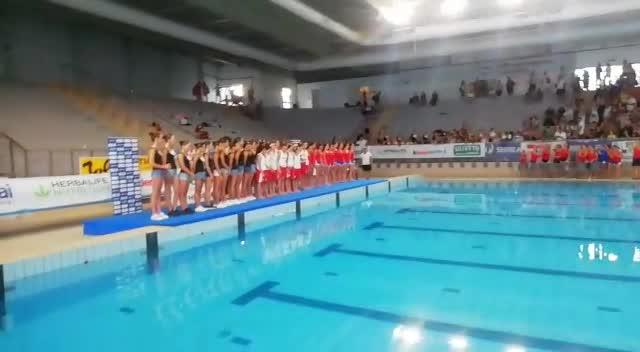 Nuoto sincronizzato, Tricolori Ragazze: la premiazione del Libero Combinato