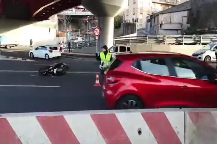 Incidente mortale in via Siffredi