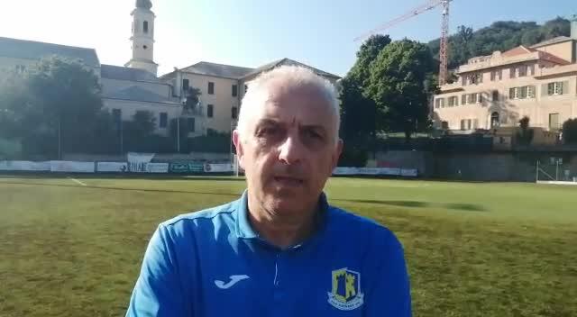 Mario Benzi, le parole del mister al termine di Finale-Cairese