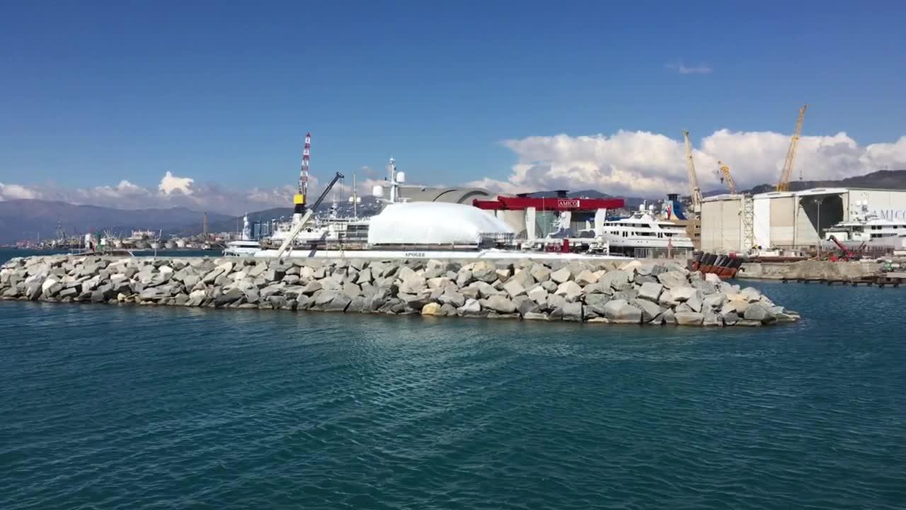 Amico &Co pronto a investire 33 milioni per il mega-polo degli yacht