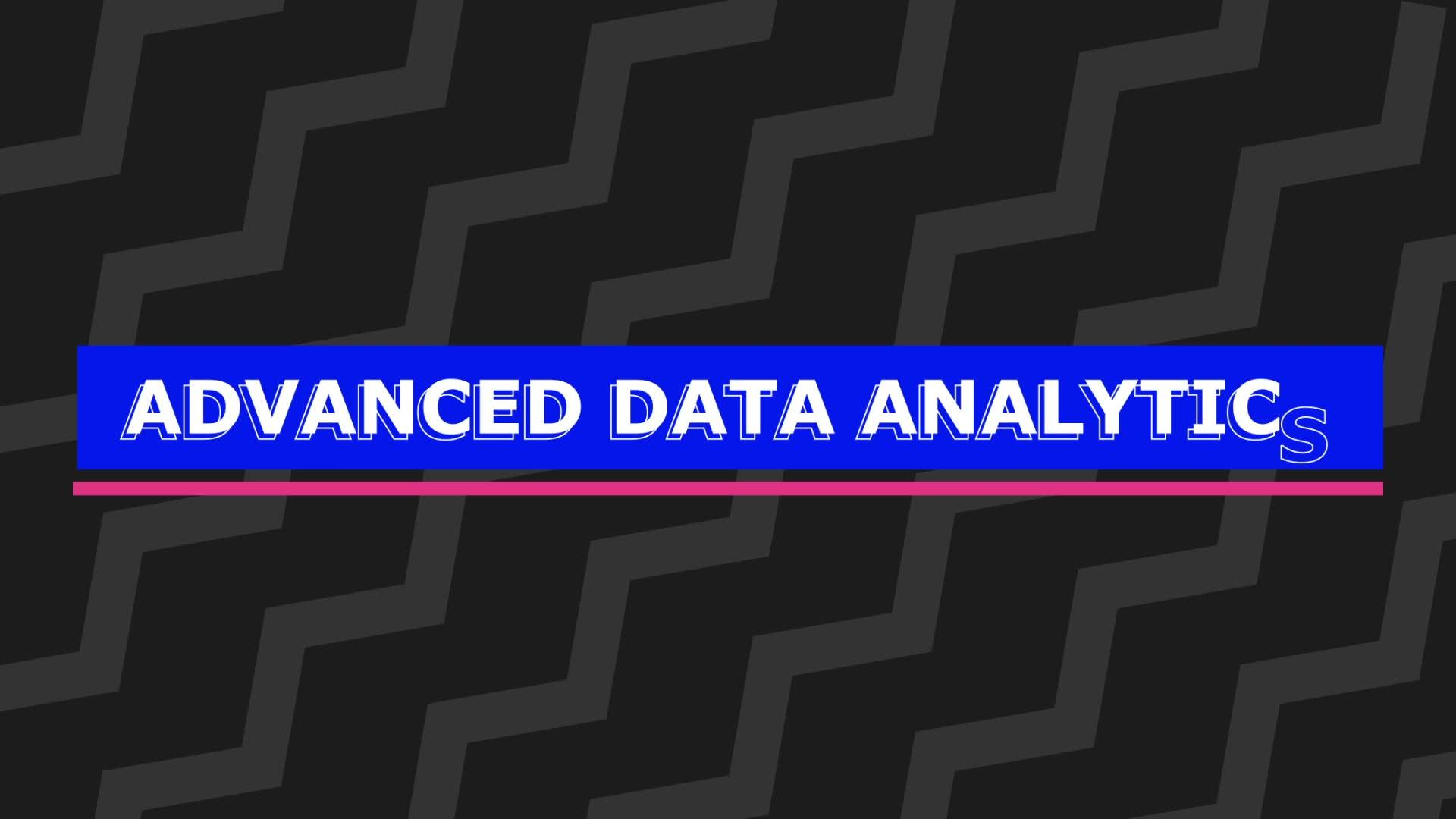 Advanced analytics: A step ahead