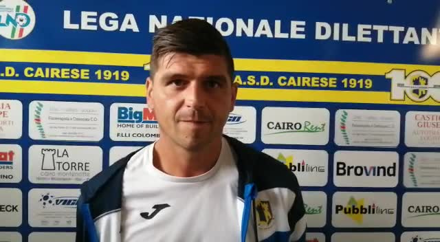 """Cairese, Diego Alessi post Taggia: """"Passo avanti come prestazione rispetto ad Alassio"""""""