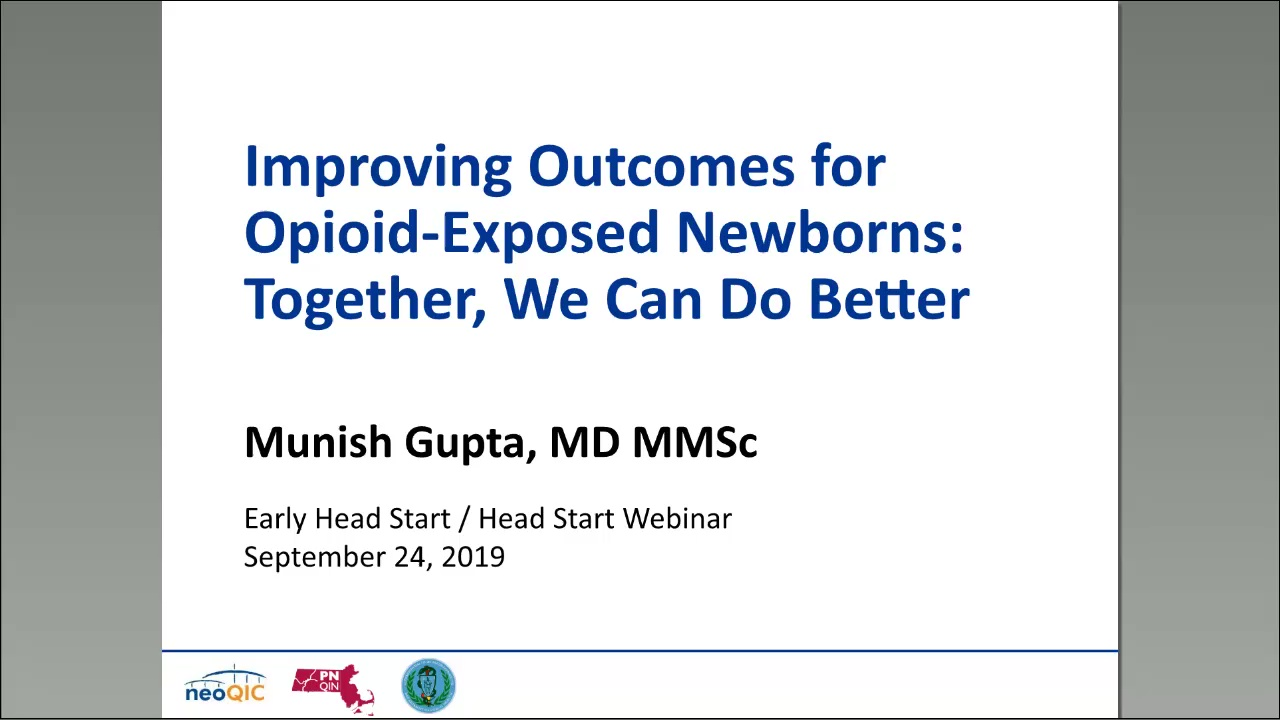 Improving Outcomes for Opioid-Exposed Newborns: Together, We Can Do Better