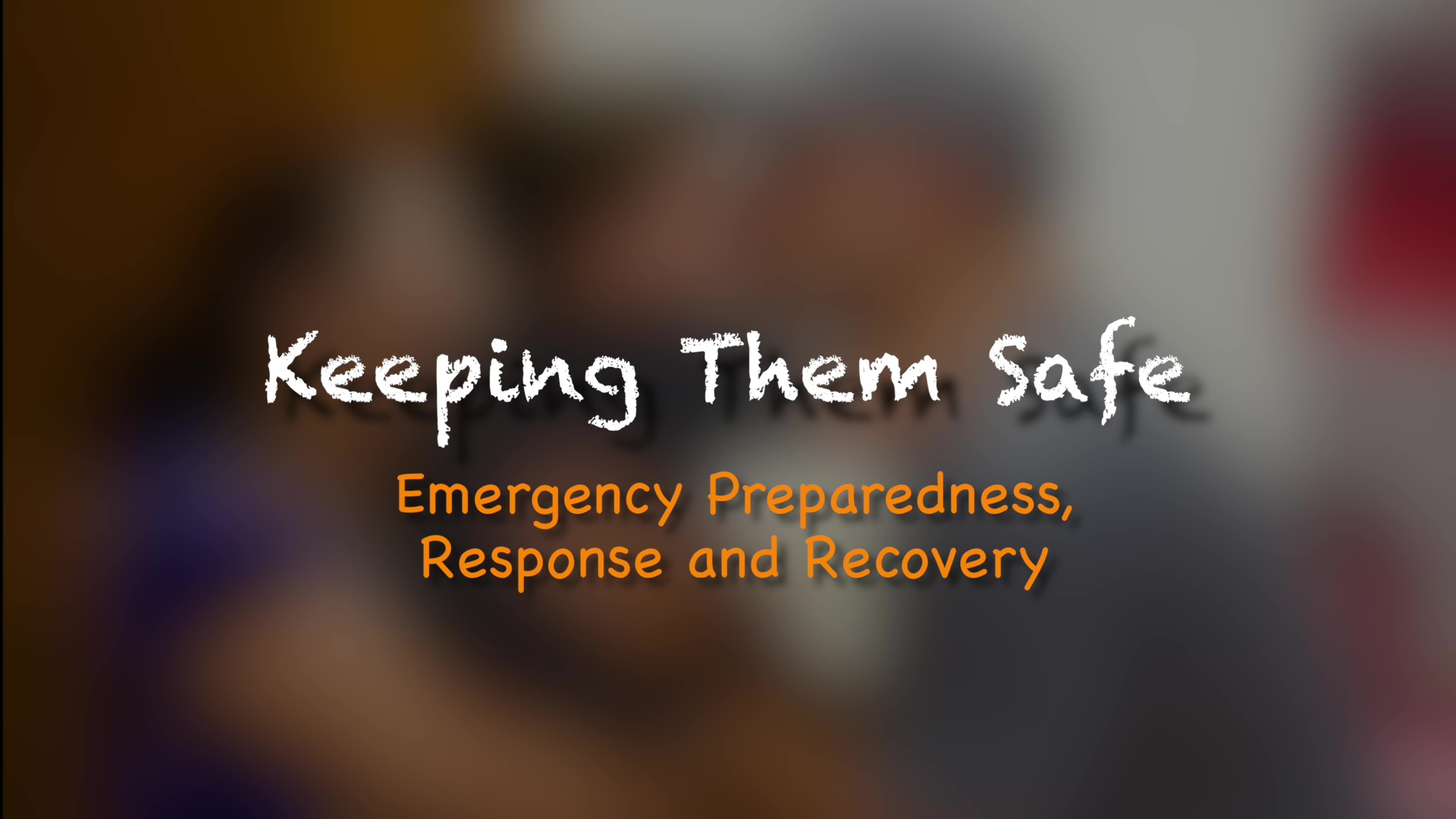 Emergency Preparedness, Response, and Recovery