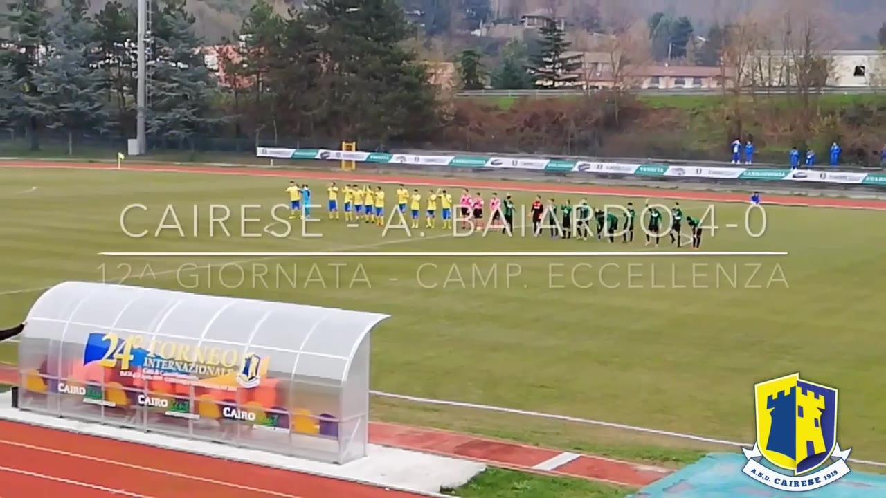 Eccellenza, Cairese contro Angelo Baiardo: gli highlights