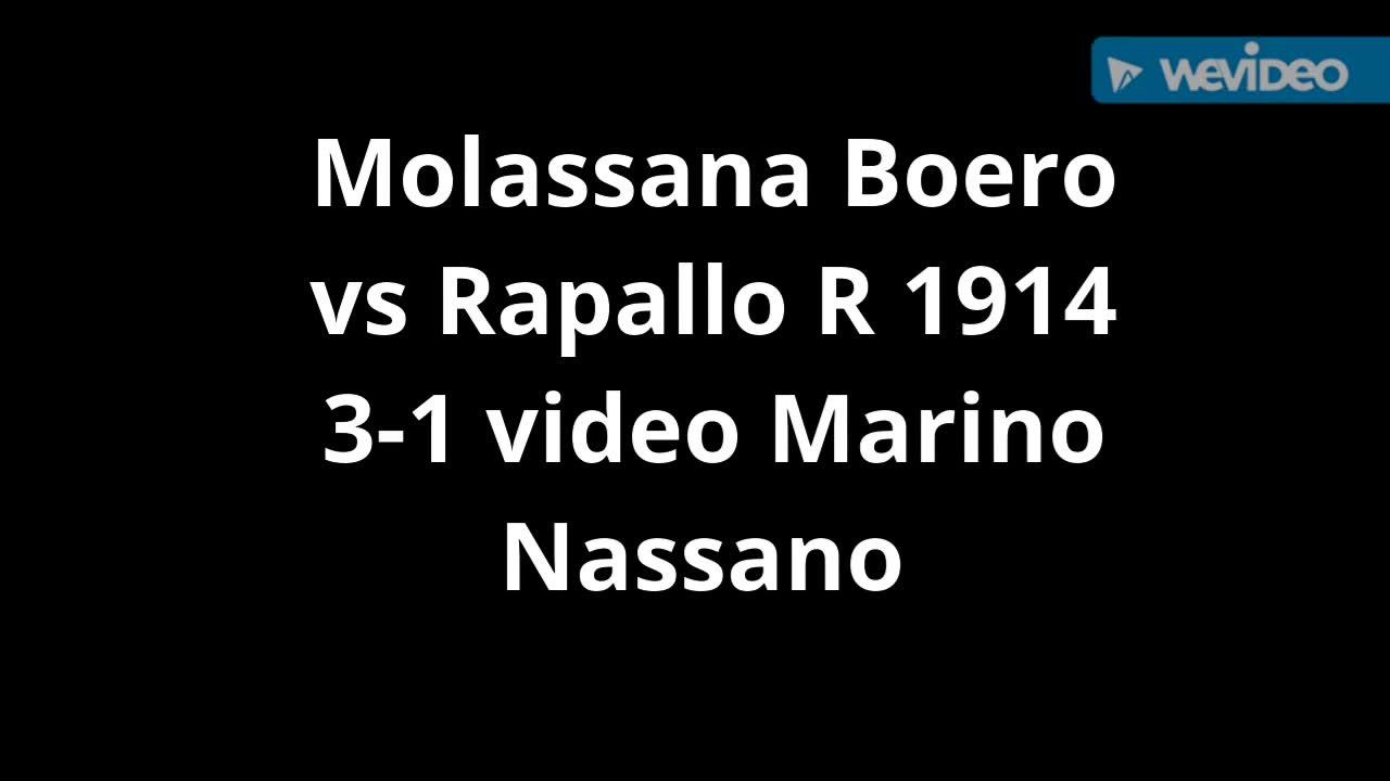 Eccellenza, Molassana contro Rapallo: la sintesi