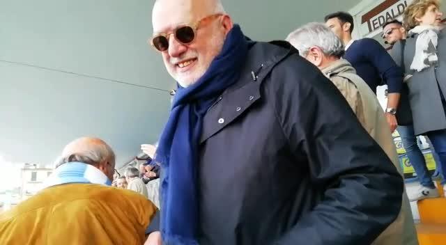 Entella in Serie B: la soddisfazione del presidente Gozzi
