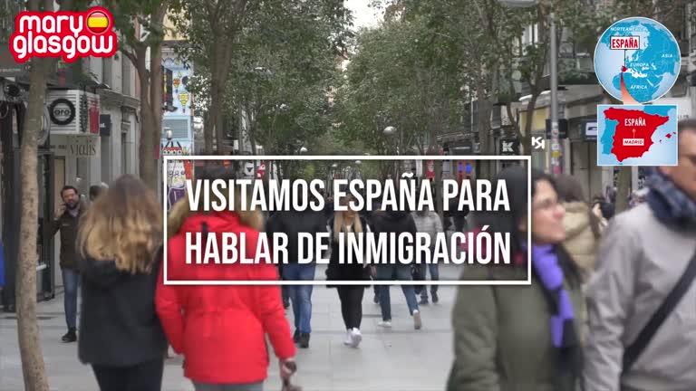 Inmigración en España: entrevistas screenshot