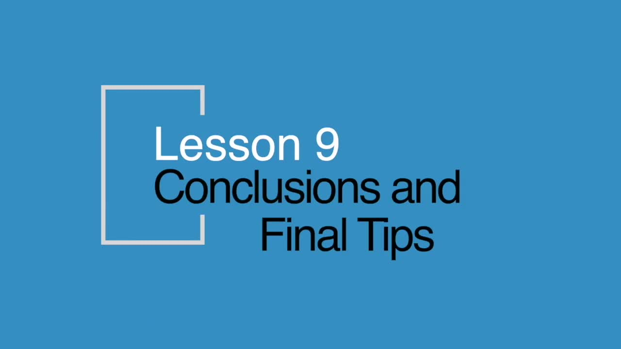 Analysing Example Conclusions
