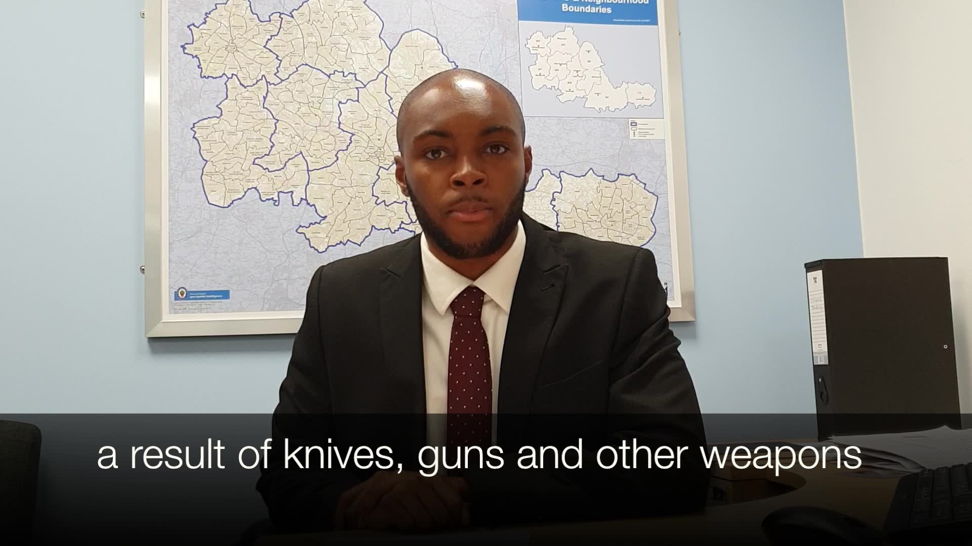 Ashley Bertie – Assistant Crime Commissioner