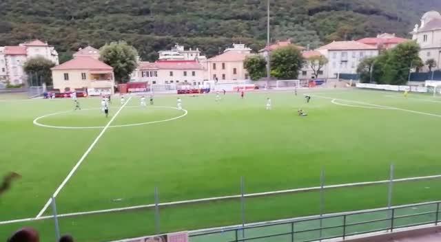 Savona campione regionale Allievi: l'esultanza finale