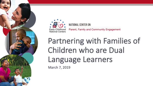 Partnering with Families of Children Who Are Dual Language Learners