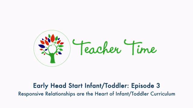 Episodio 3 de Tiempo de maestros de bebés y niños pequeños