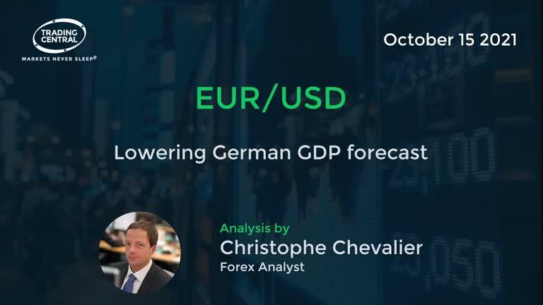 EUR/USD: Lowering German GDP forecast