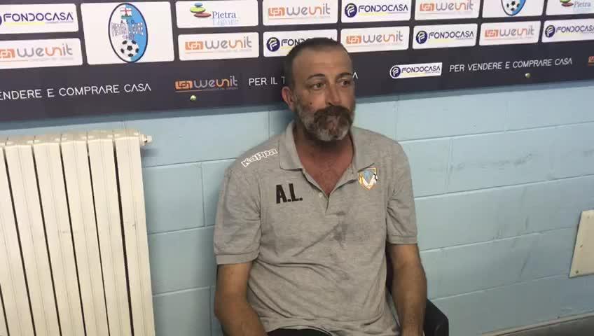 """Calcio, l'Albenga esce vittoriosa dal De Vincenzi. La soddisfazione di mister Lupo: """"Con questo atteggiamento andremo lontano"""""""