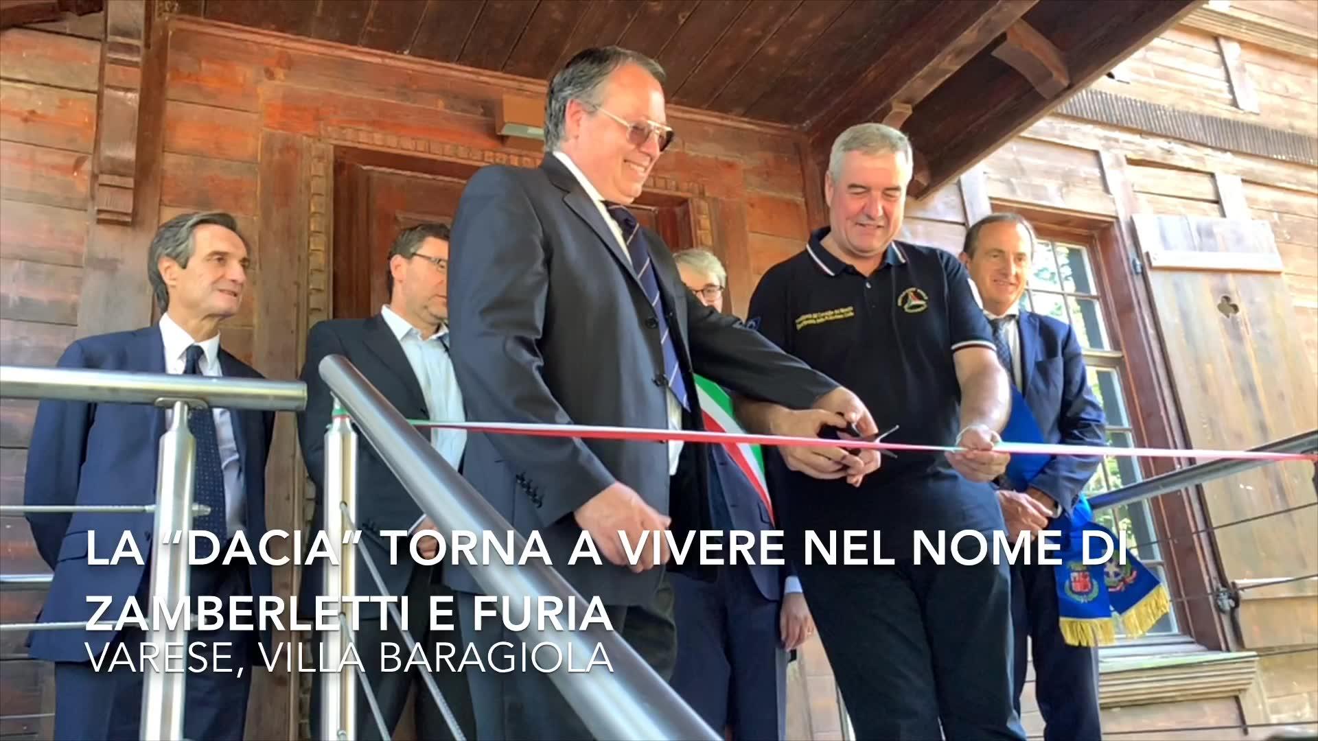 Video: La Dacia riprende vita, nel nome di Zamberletti e Furia