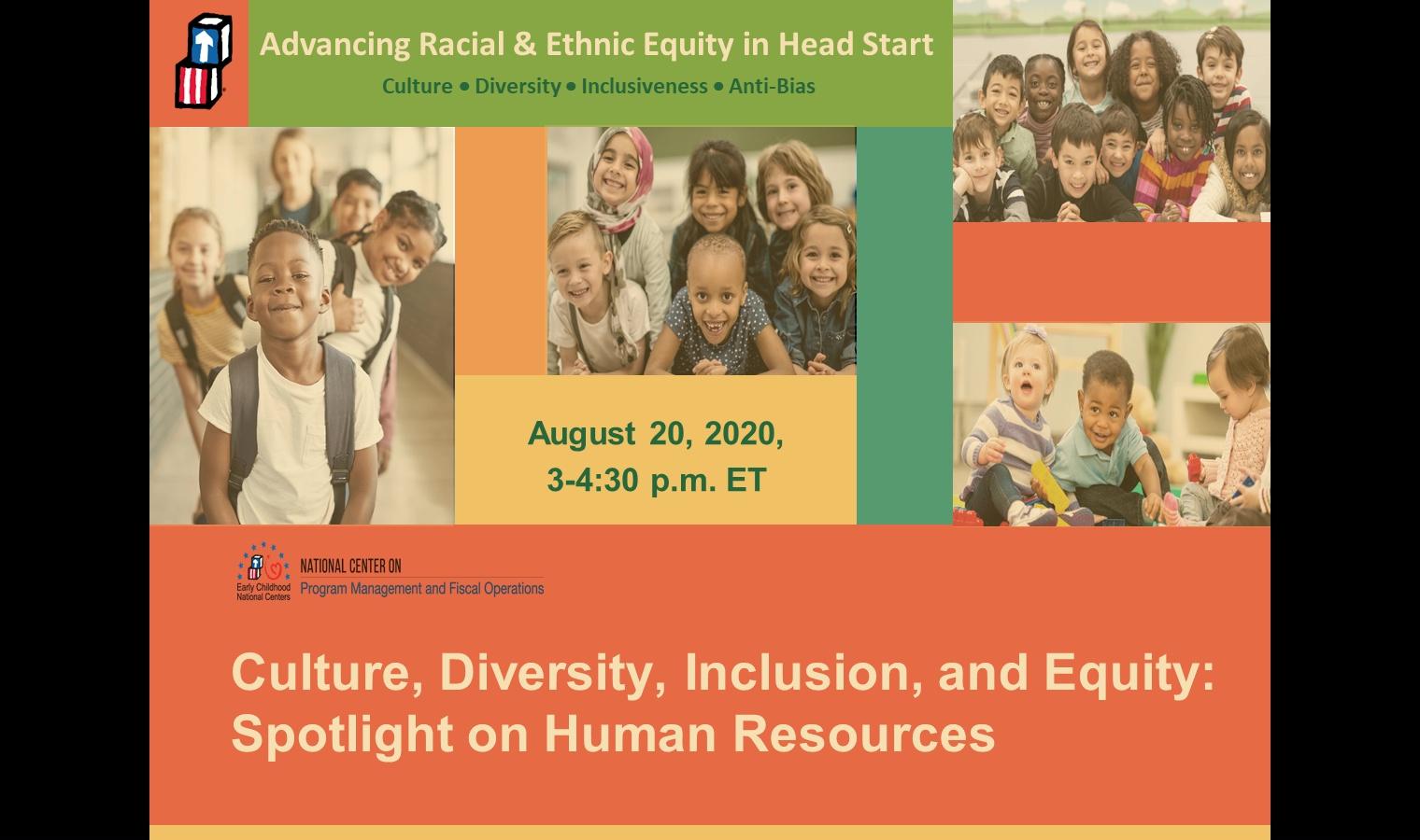 Cultura, diversidad, inclusión y equidad (CDIE): Atención a los sistemas de recursos humanos