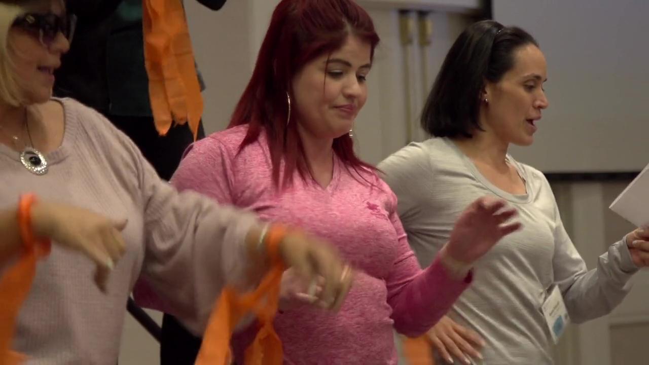 Me muevo y aprendo (IMIL): Participantes de la capacitación