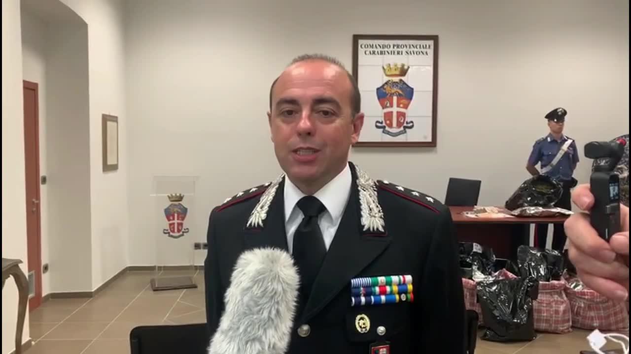 Operazione antidroga dei carabinieri