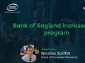 Bank of England increases QE program