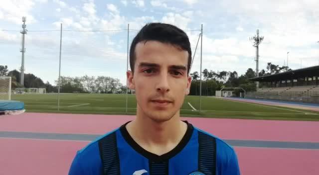 Varazze-Cairese, parola all'autore del gol nerazzurro: Luca Iardella