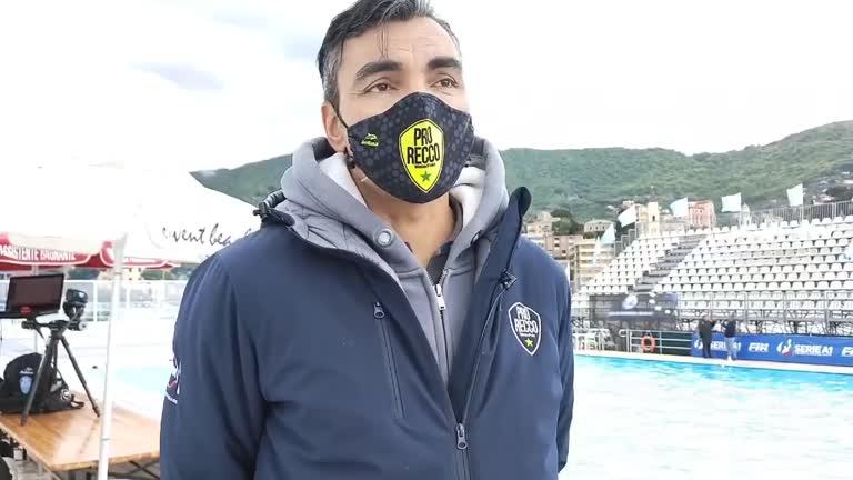Pro Recco in finale scudetto: il commento di Gabriel Hernández