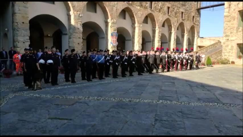 I carabinieri celebrano 205 anni sul Priamar