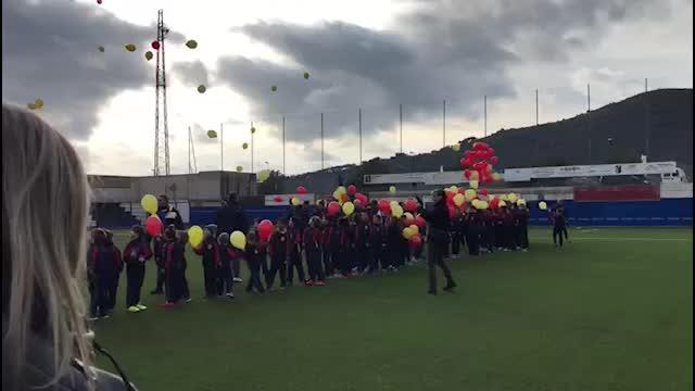 Albenga, inaugurazione del manto in sintetico allo stadio Riva