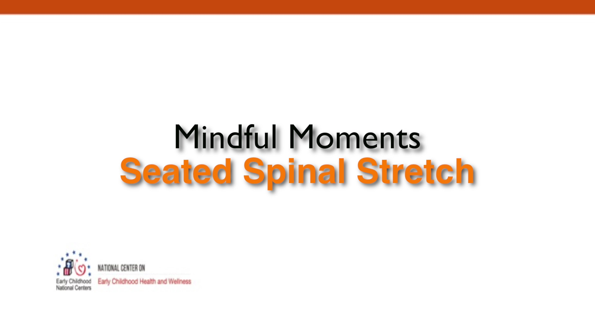 Seated Spinal Stretch