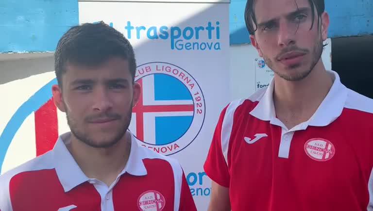 Genova Calcio, le voci di Gianluca Cusato e Michael Orlando