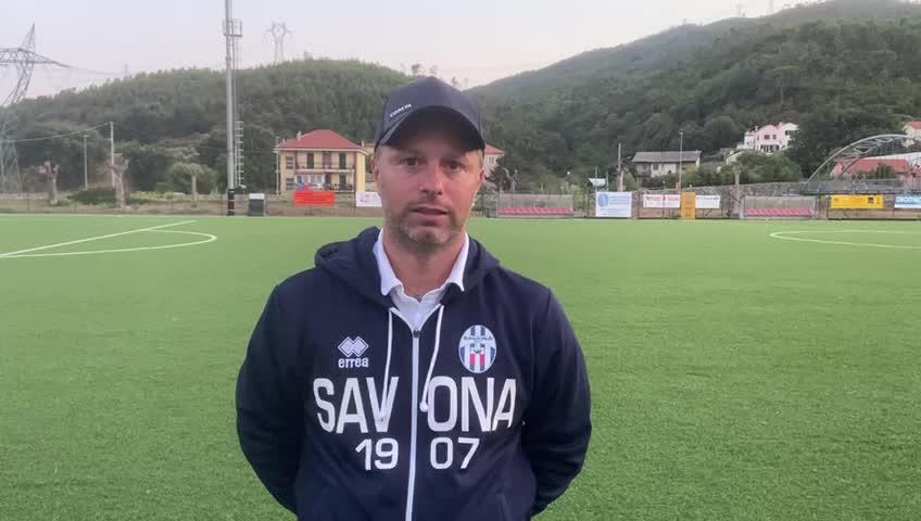 Savona Fbc, mister Cattardico promuove i suoi svelando l'obiettivo stagionale