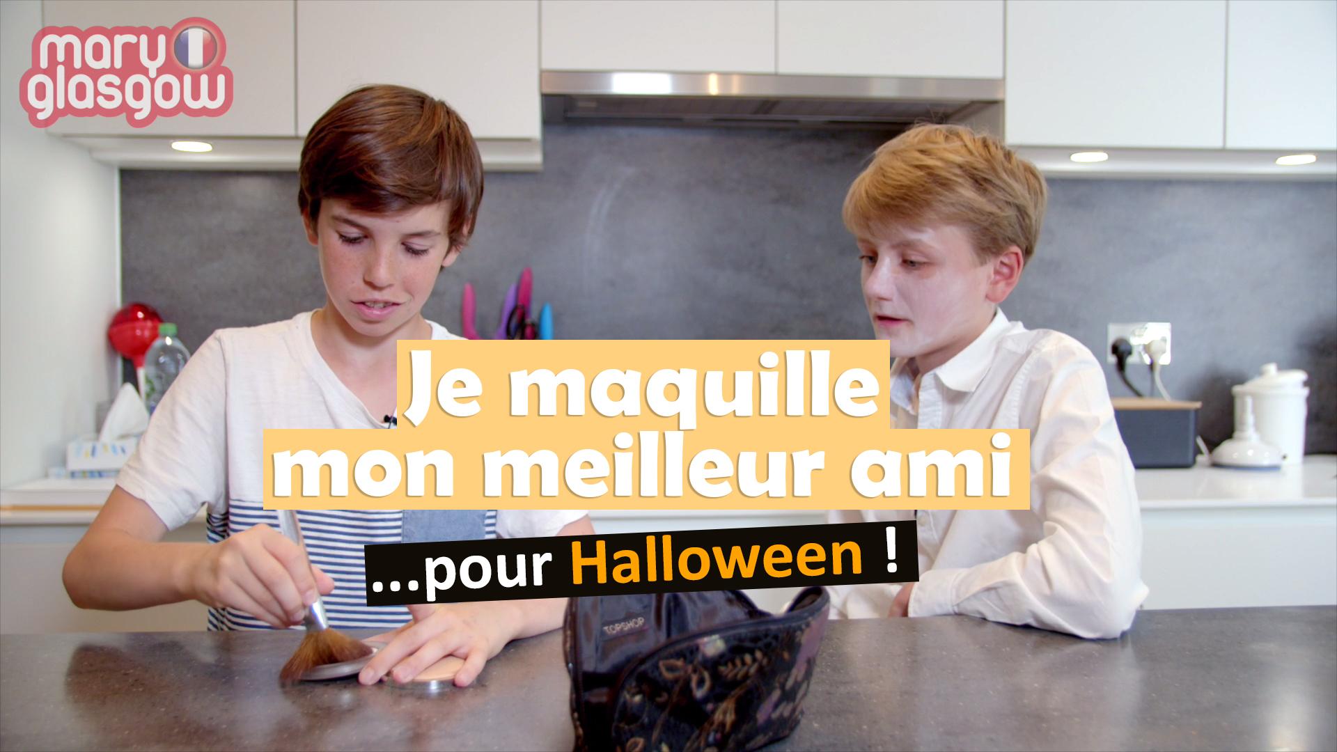 Halloween : Je maquille mon meilleur ami
