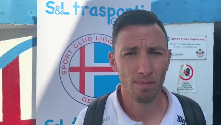 Pietro Tripoli, il commento all'andata di Ligorna-Genova Calcio