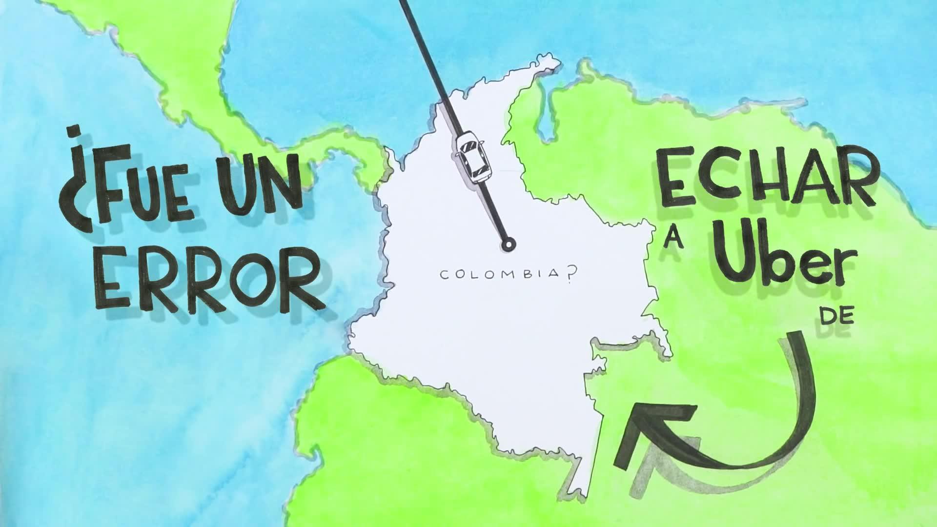 Uber en Colombia screenshot