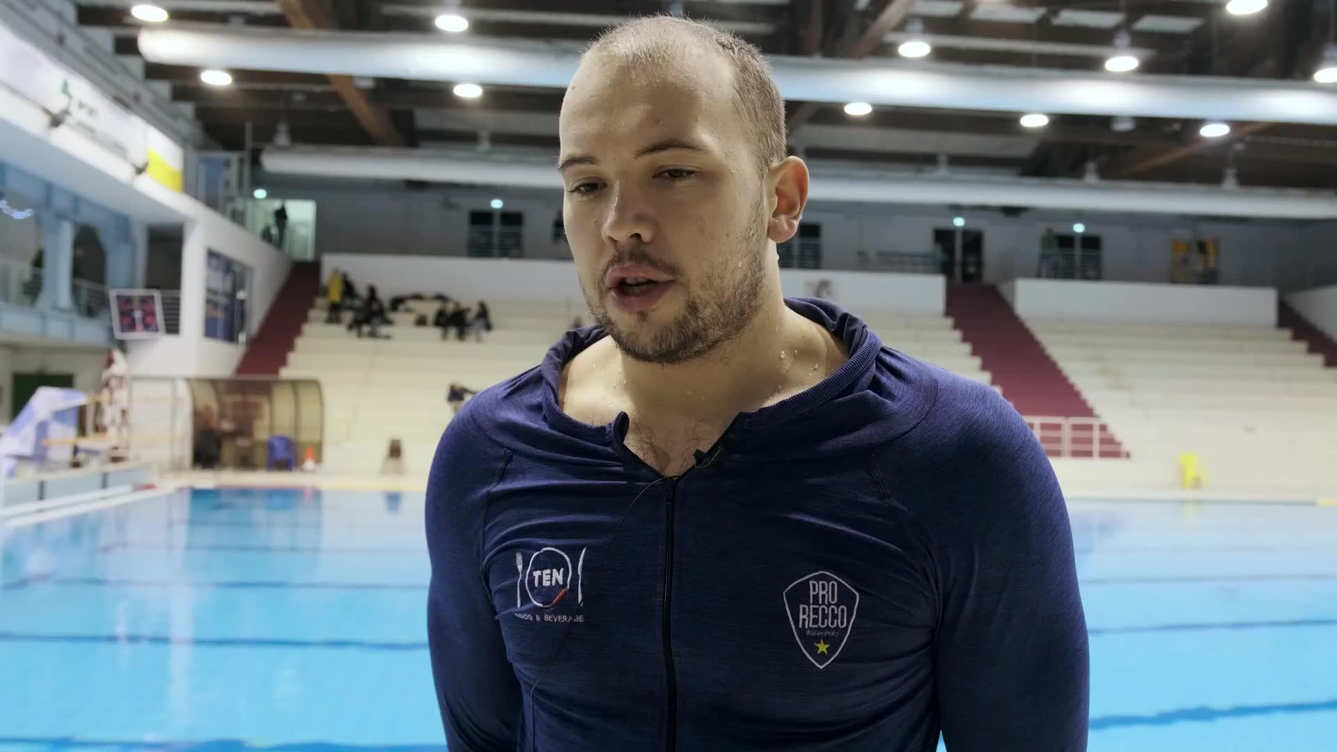 La Pro Recco affronta la Dinamo Tbilisi: le parole di Dušan Mandić