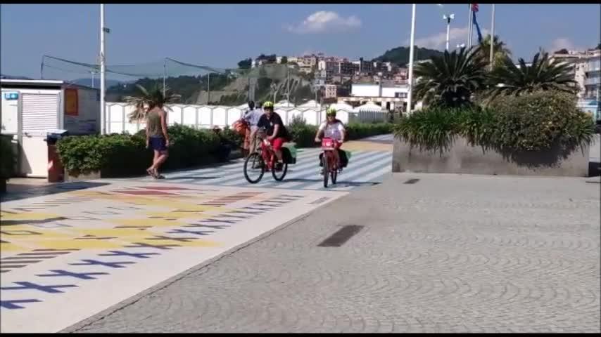 """Nelle Albisole riparte il servizio di primo soccorso """"Crosses on Bike"""