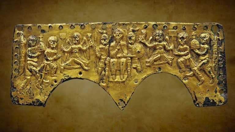 Museum corner: The Agilulf helmet plaque