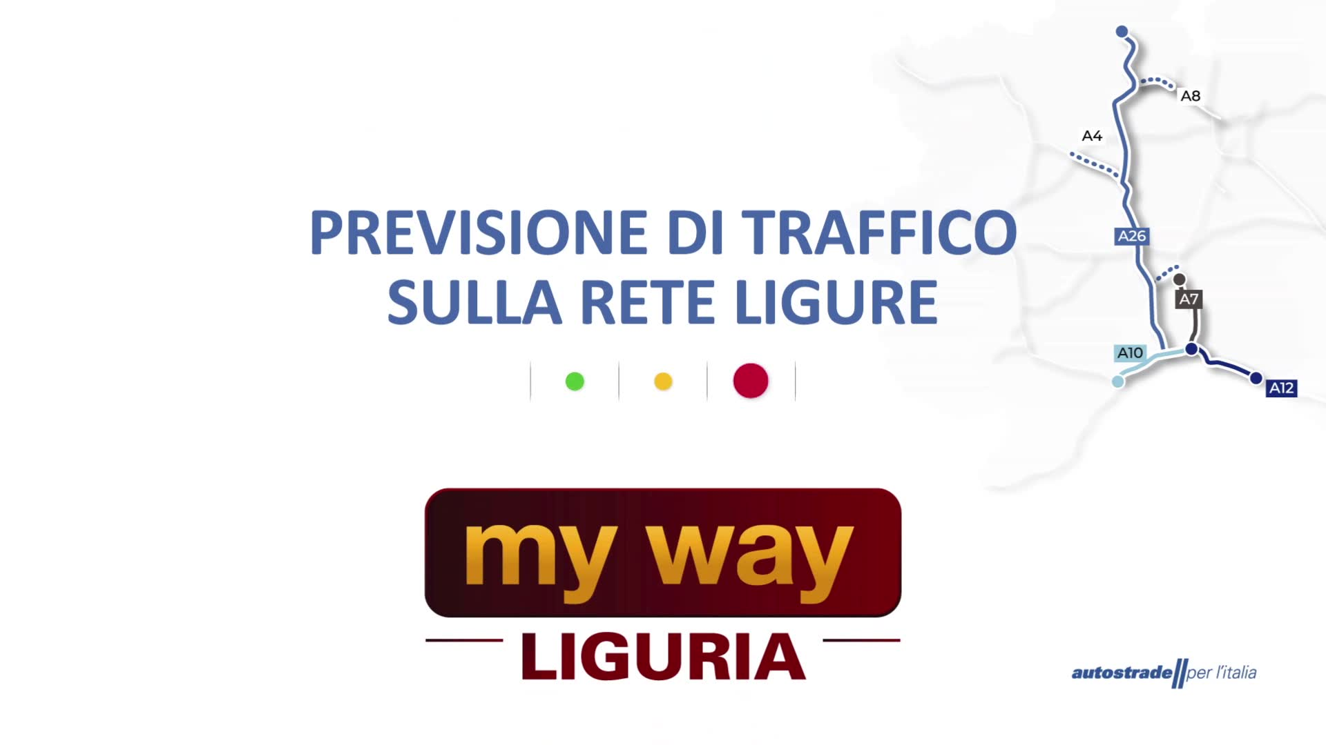 Le previsioni del traffico sulle autostrade liguri per giovedì 5 agosto