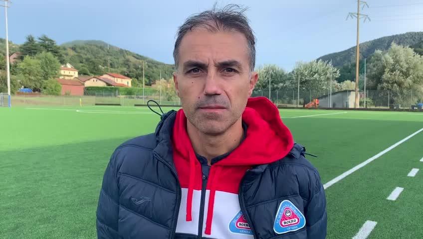 """Molassana, Antonio Pandiscia: """"E' un momento in cui non riusciamo a segnare"""""""