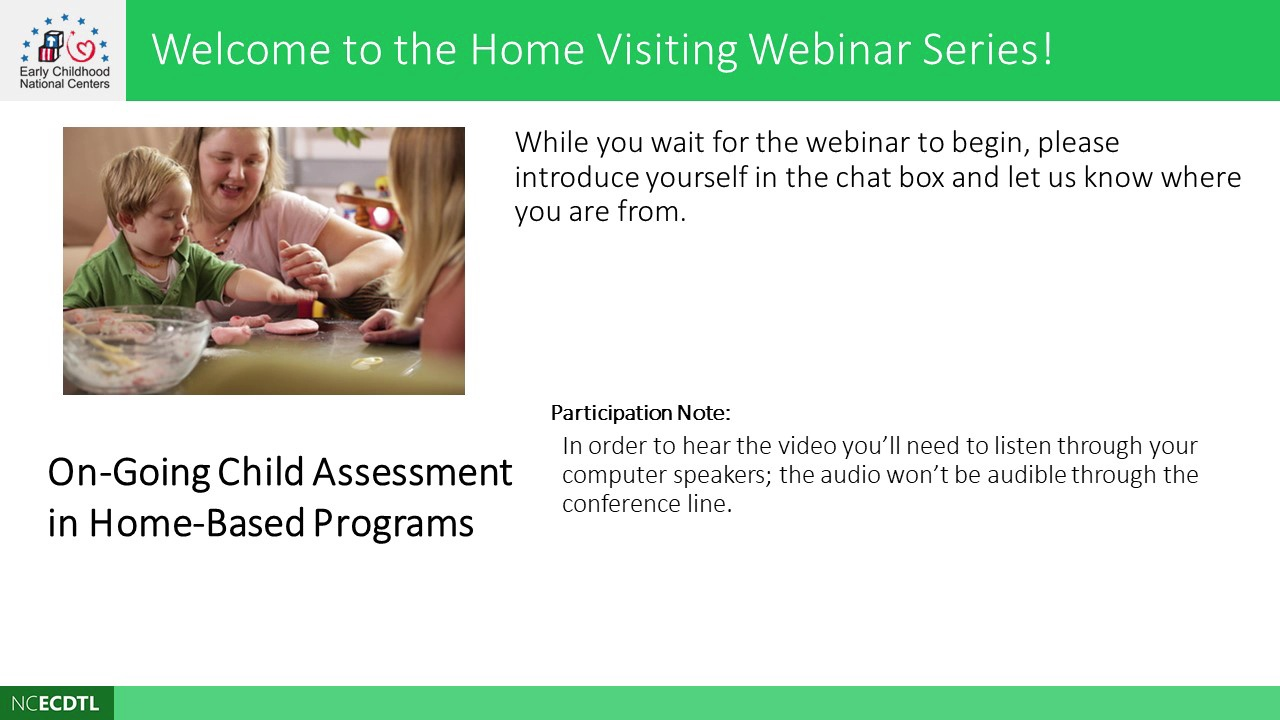 Ongoing Child Assessment in Home-Based Programs