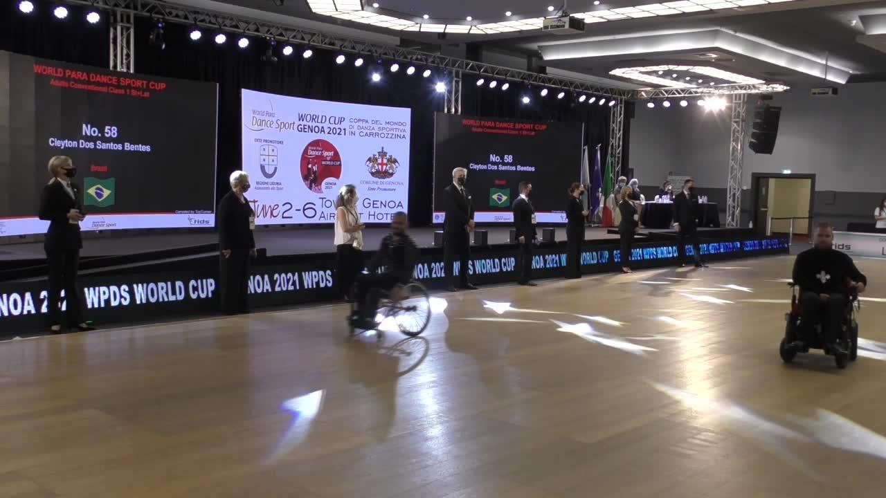 World Para Dance Cup, prima giornata: parla Michelangelo Buonarrivo