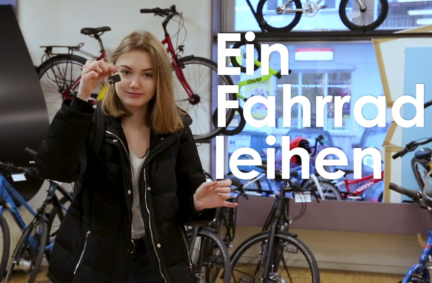 Ein Fahrrad leihen screenshot