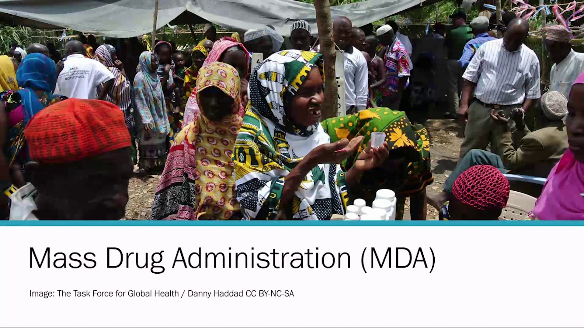 Introducing Mass Drug Administration