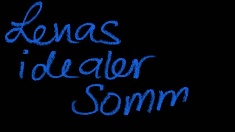 Lenas idealer Sommer