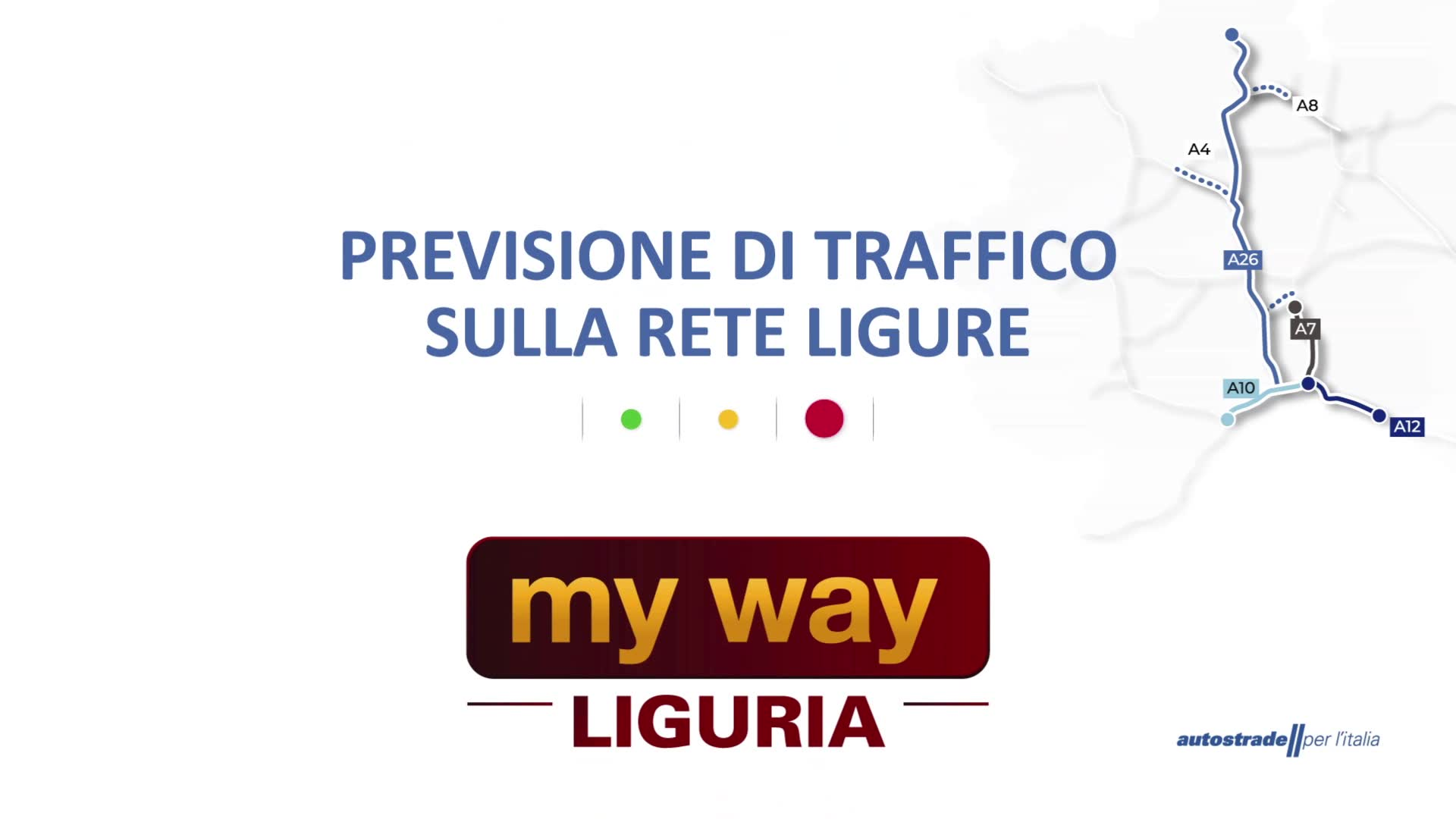 Le previsioni del traffico sulle autostrade della Liguria per la giornata di domenica 1 agosto