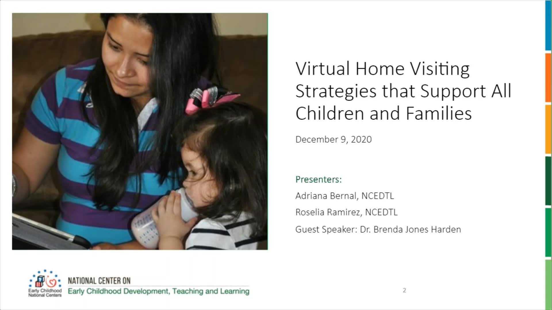 Virtual Home Visiting Strategies that Support All Children and Families