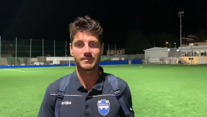 Busalla-Campomorone, il commento post partita di Marco Compagnone